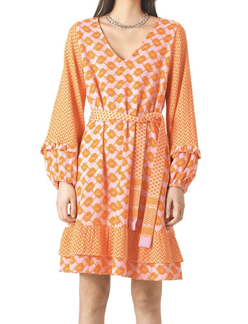 Cecilie Copenhagen Liv Dress Pink/Orange 254