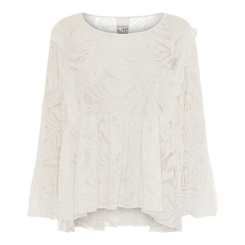 AJ 117 Project Stella Shirt - White