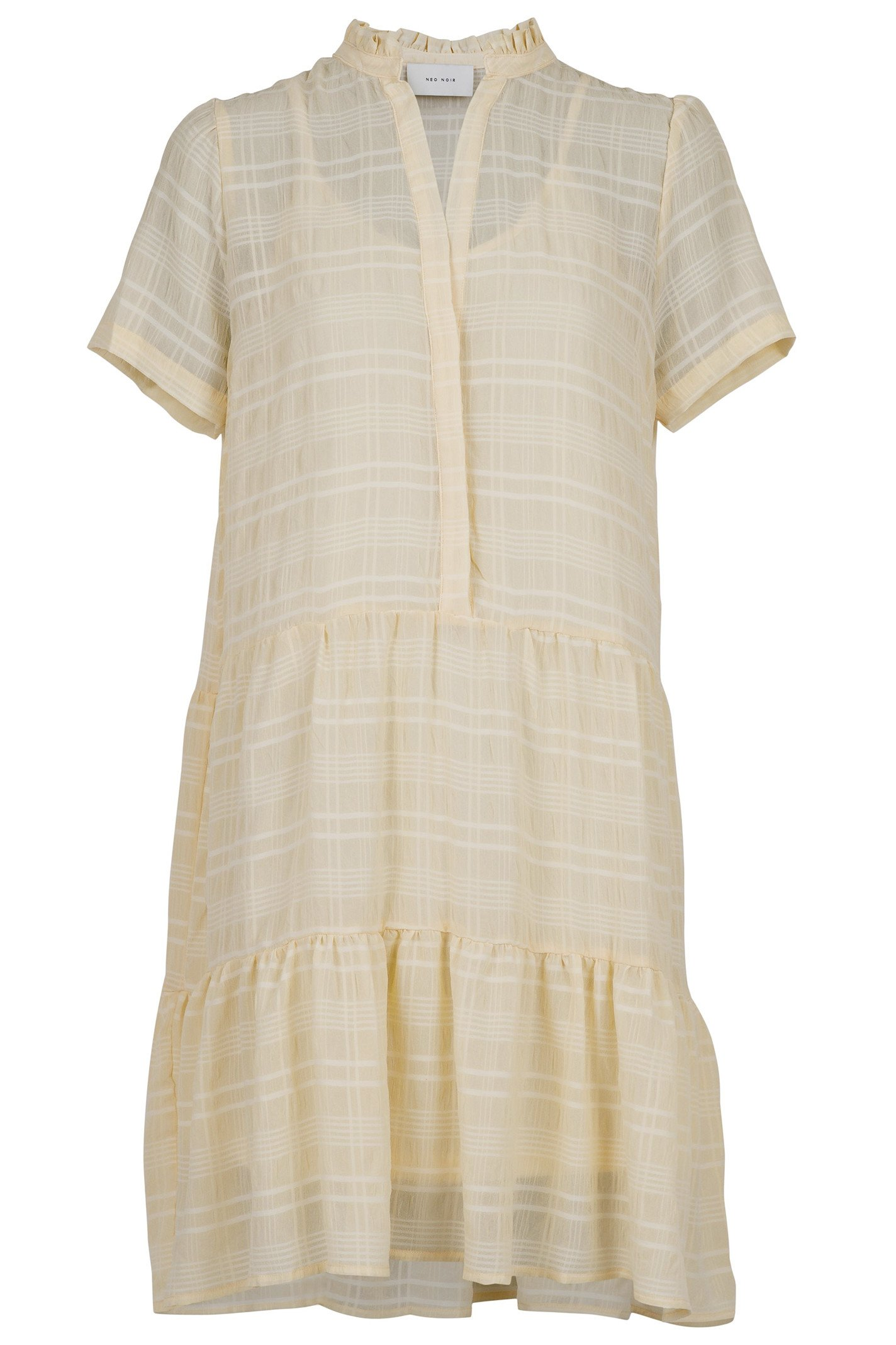Neo Noir Yara Stripe Dress - Sand