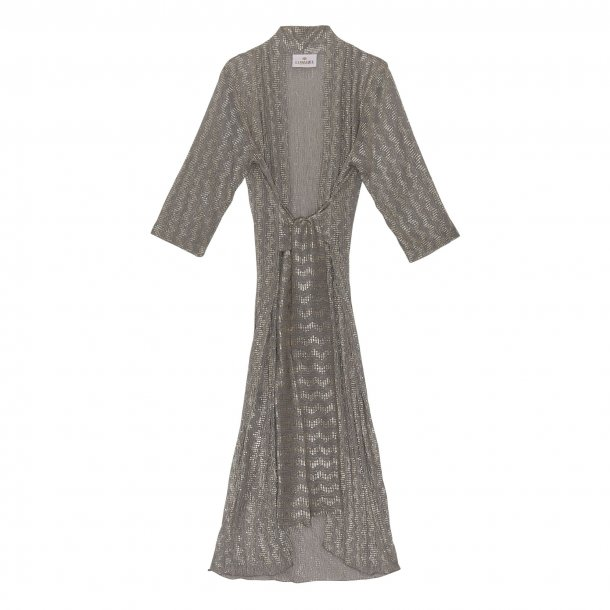 Karmamia Hailey Wrap Kimono Beige Gold