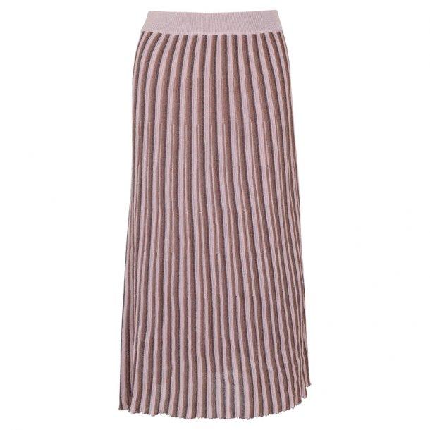 Neo Noir Diddi Stripe Knit Skirt