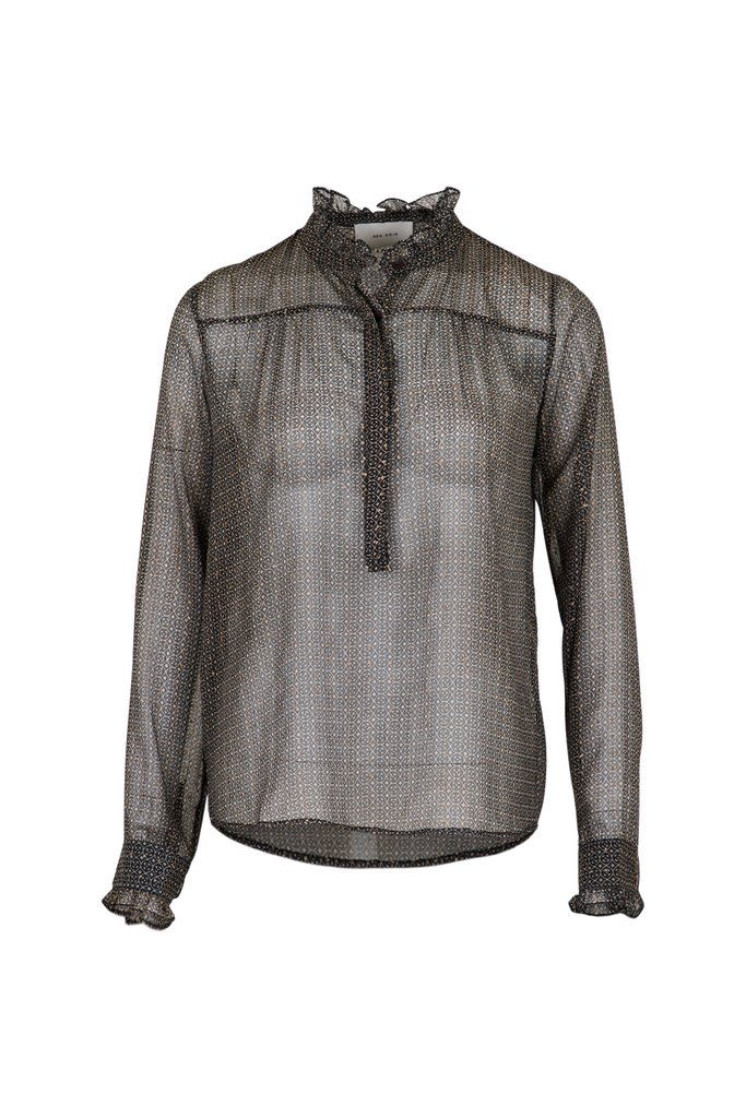 Neo Noir Viki French Tile Shirt