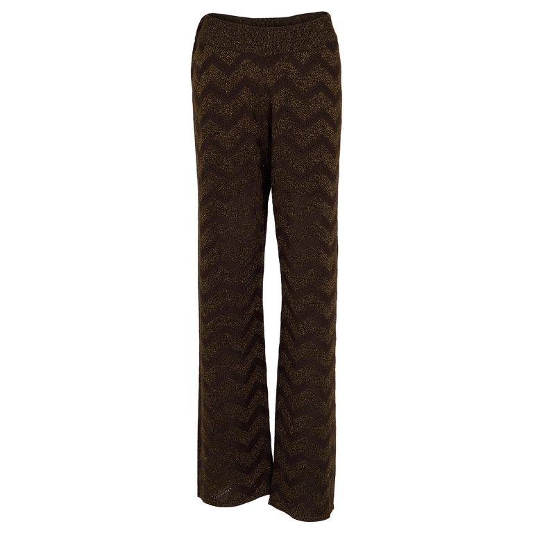 Neo Noir Ruby Knit Pants