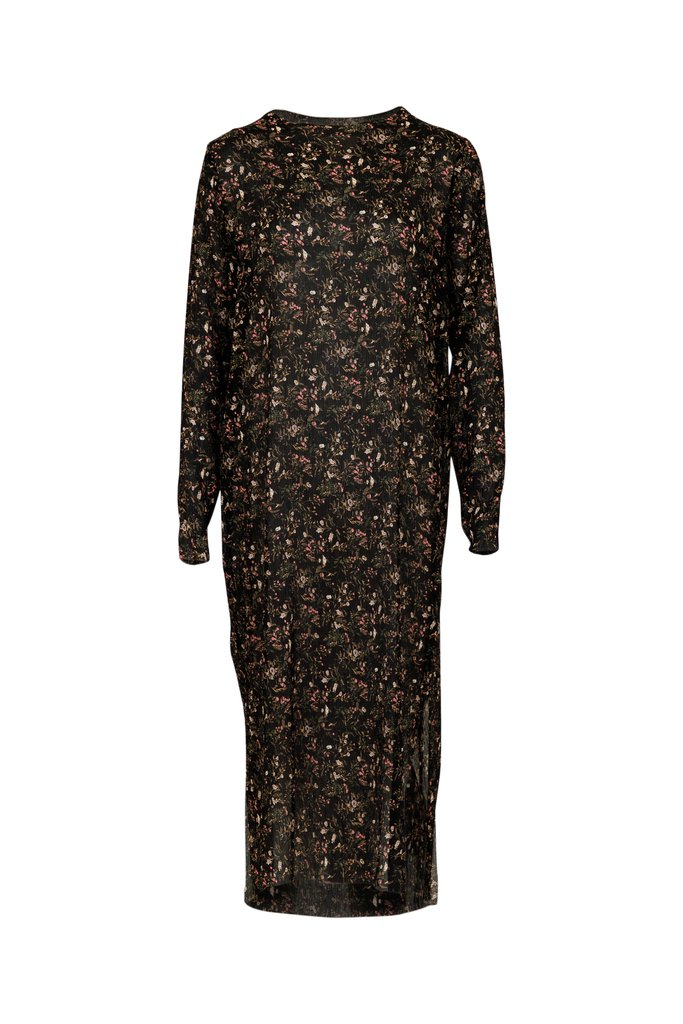 Neo Noir Vogue Wild Flower Dress
