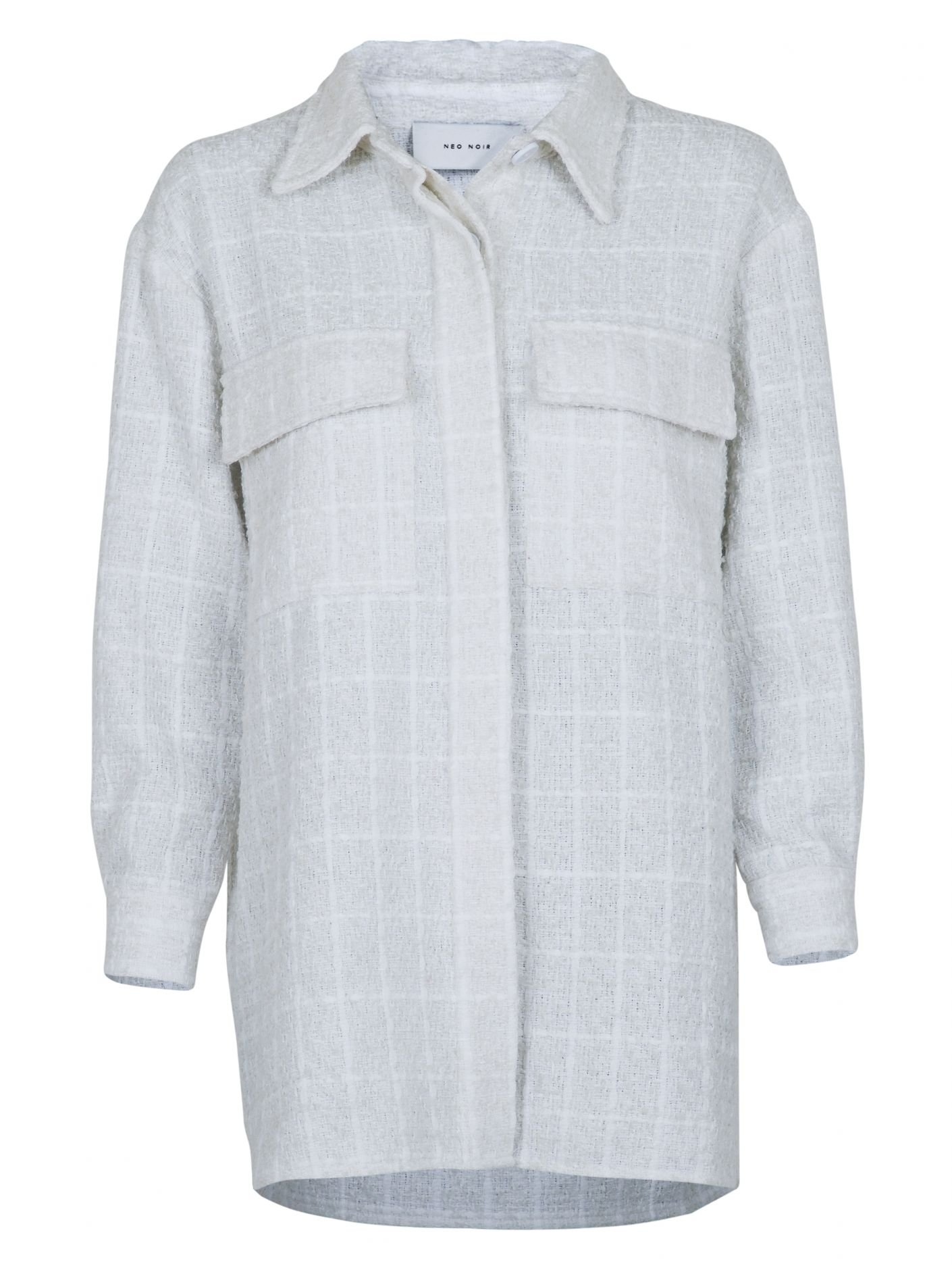 Neo Noir Lin Boucle jacket White