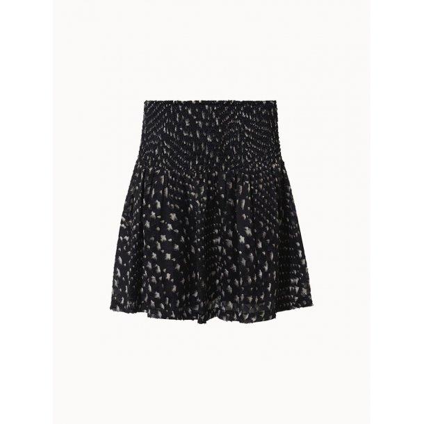 Fine Copenhagen Ines Skirt  - Black Print 999
