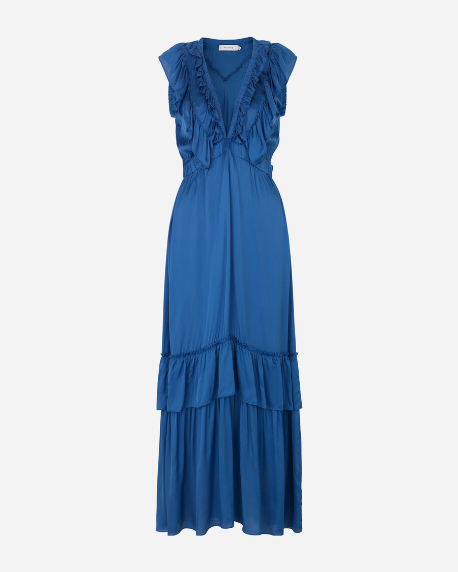 Munthe Macedonia Dress - 36 Blue