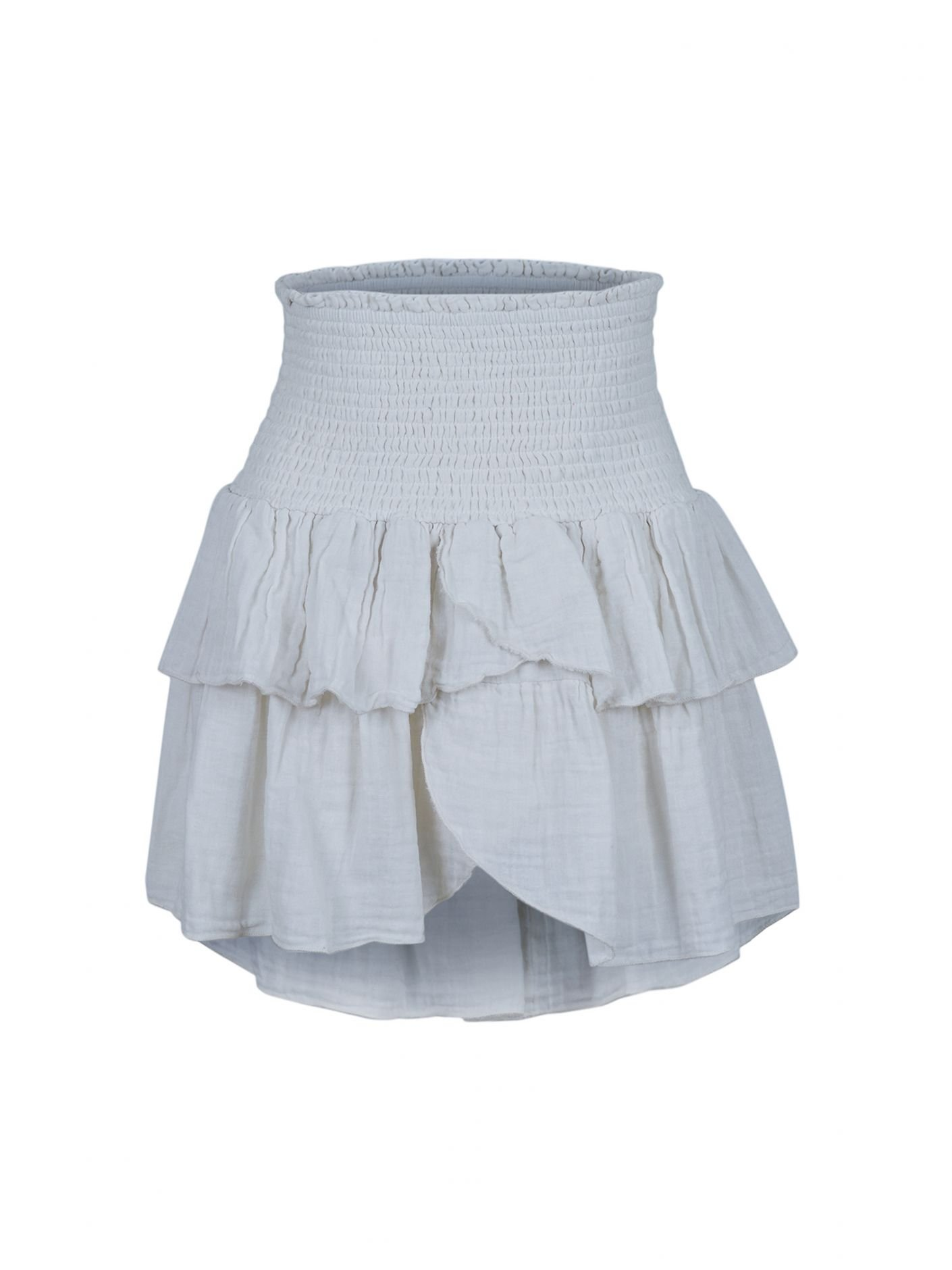 Neo Noir carin gauze Skirt - Off white