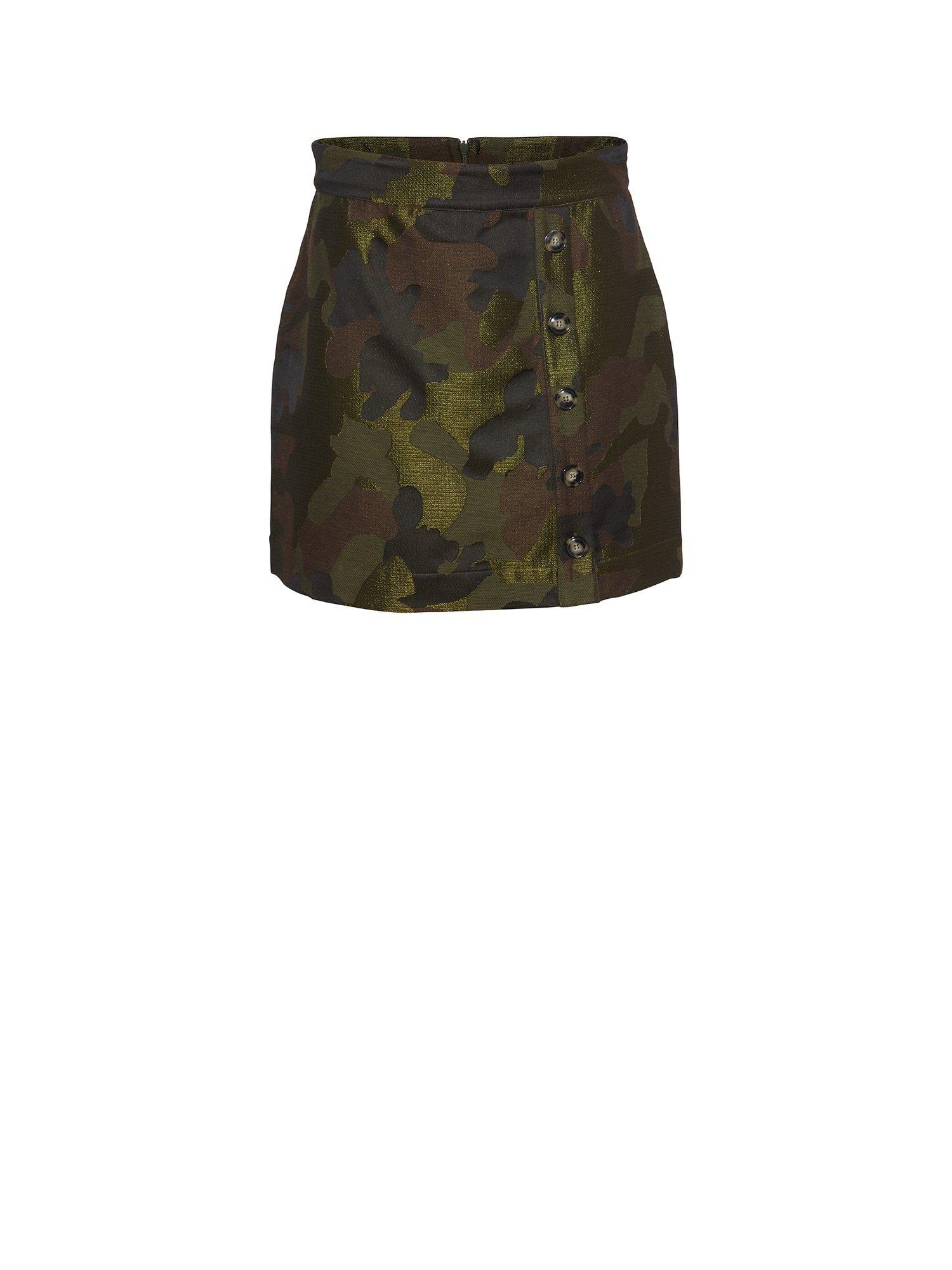 Heartmade/Julie Fagerholt Safia Skirt - 202 Camouflage