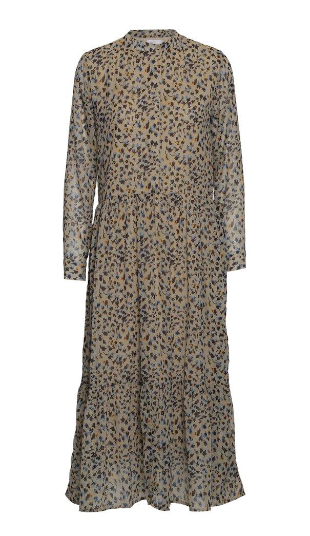 MACHE Fleur Maxi Dress - Beige