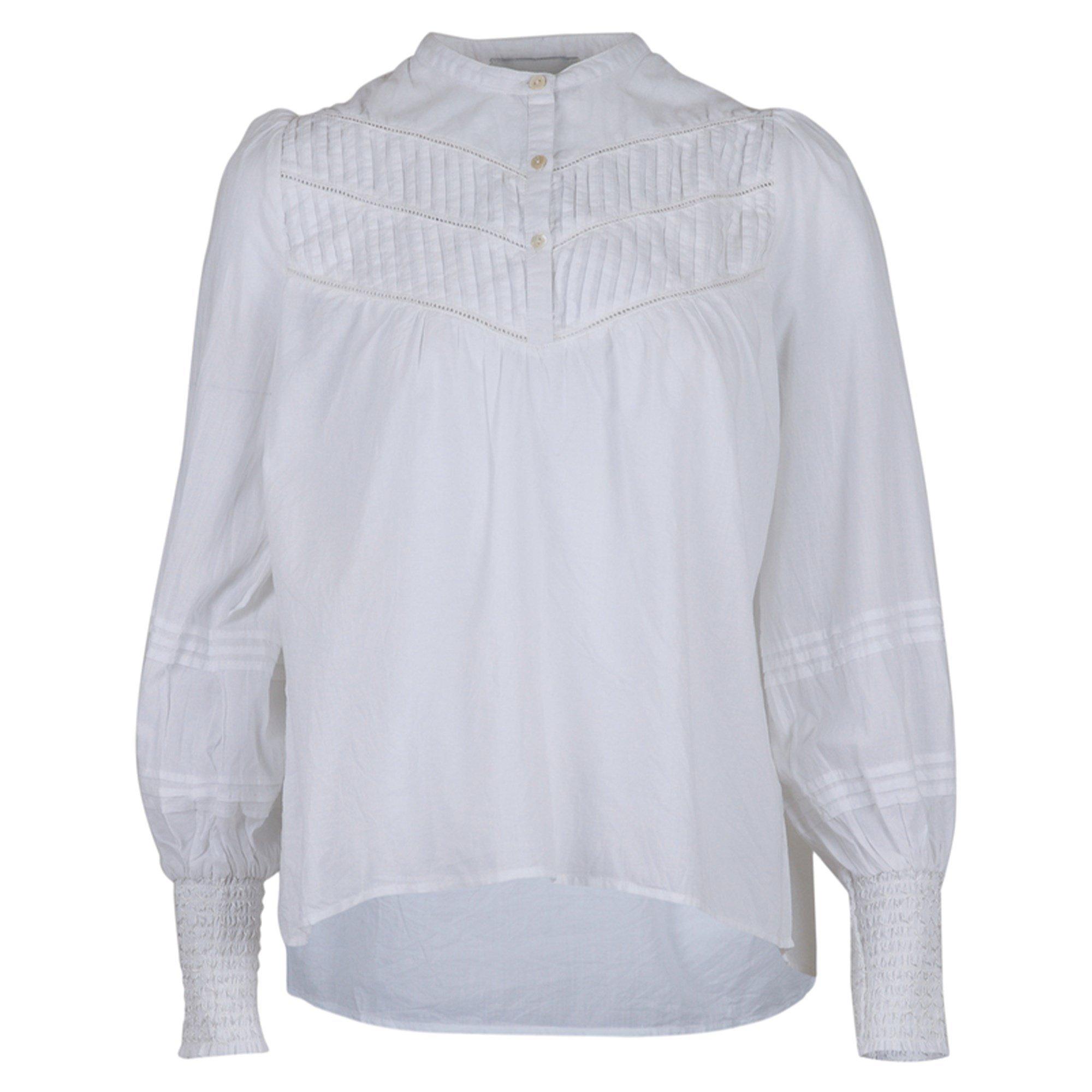Neo Noir Felina Voile shirt White