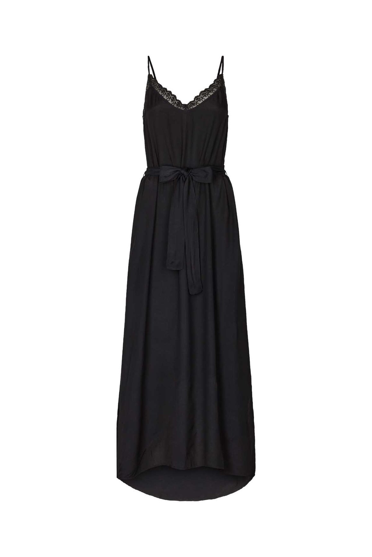 Lollys Laundry Beatrice Strap Dress 18 washed black