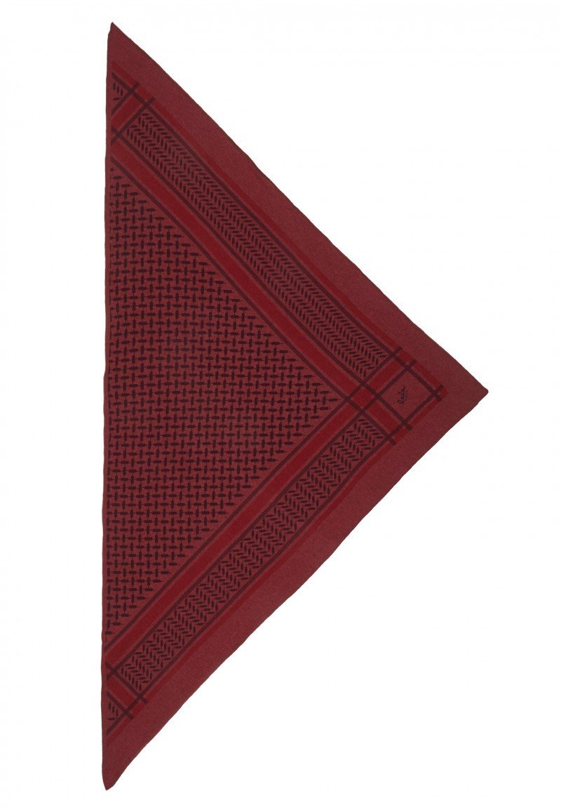 Lala Berlin Triangle Trinity Classic Fig on Popora - Red
