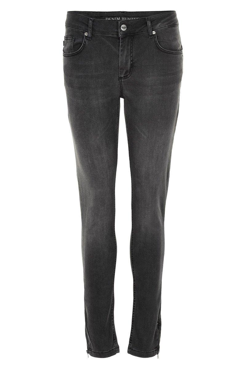 Denim Hunter Celina Zip Custom Jeans Grey washed