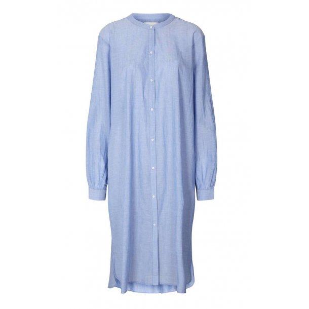 Lollys Laundry Basic Shirt Dress - Dusty Blue 29