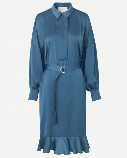 Munthe Exhale dress blue