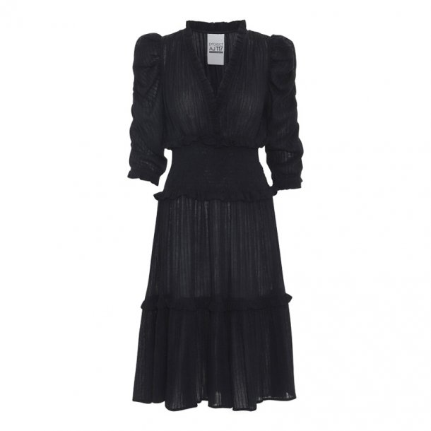 AJ 117 Project Sam Dress - Black