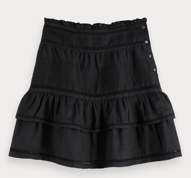 Maison Scotch 156013 High summer Skirt - Black