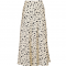 Neo Noir Bovary Abstract Dot Skirt - Creme 122