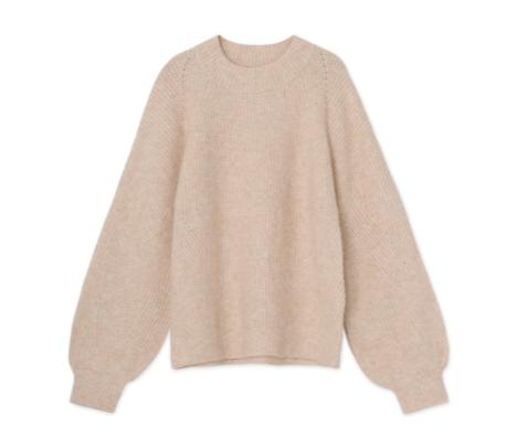 Graumann Linea Sweater - Camel Knit