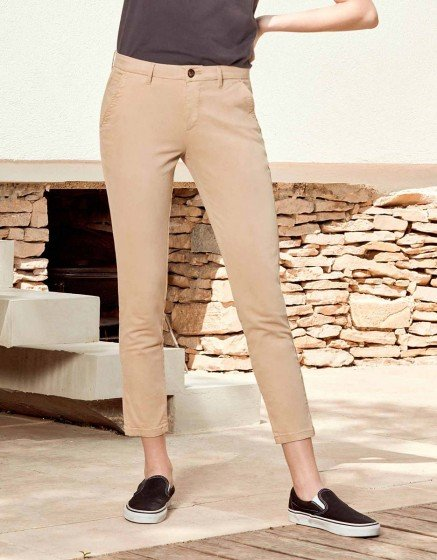 Reiko Sandy 2 Basic Pants - Beige