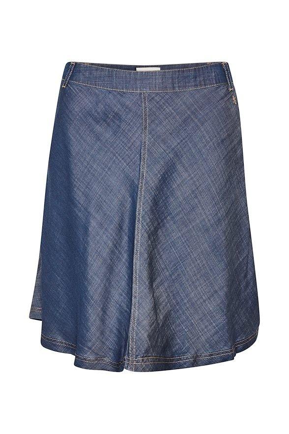 Denim Hunter Maria Skirt - Dark Wash  38515