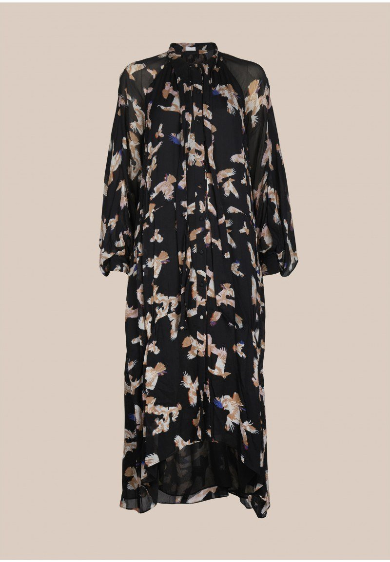 Lala Berlin Danell Dress / Black Falcon