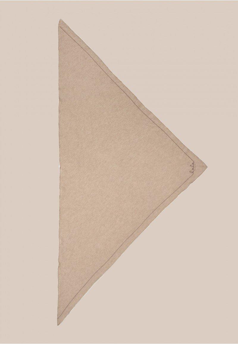 Lala Berlin Triangle Solid Logo M Dune/Beige