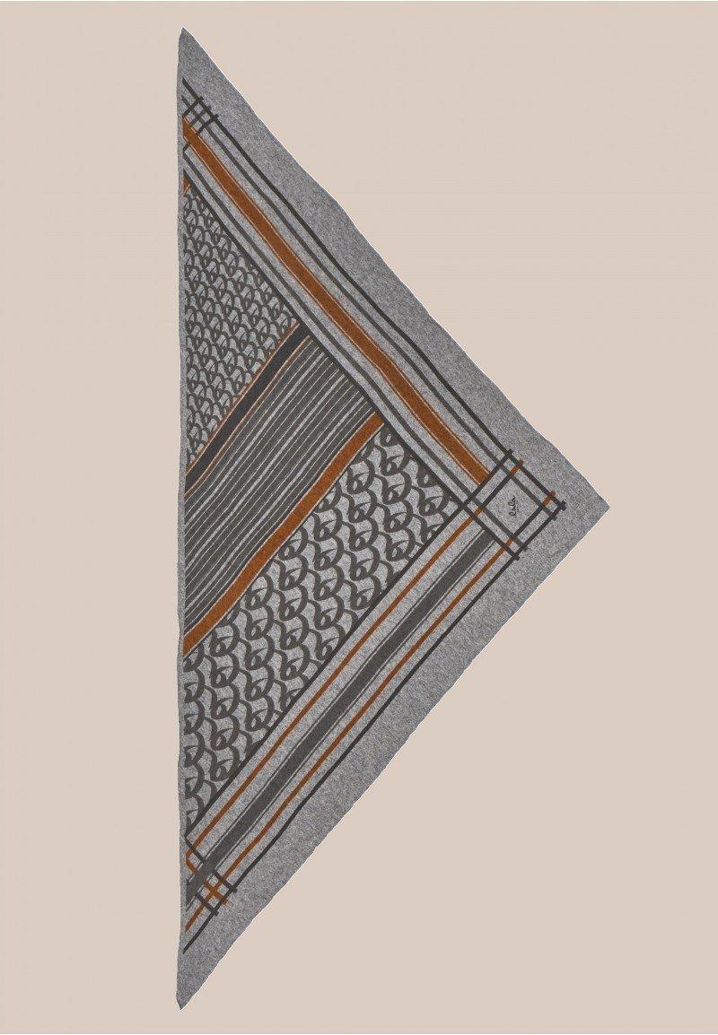 Lala Berlin Triangle Stripe Monogram M / Stripe Monogram on City