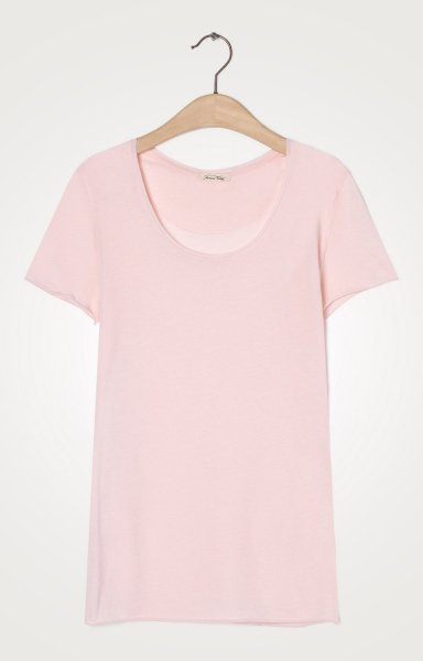 American Vintage Chip16 T-Shirt - Wild Rose