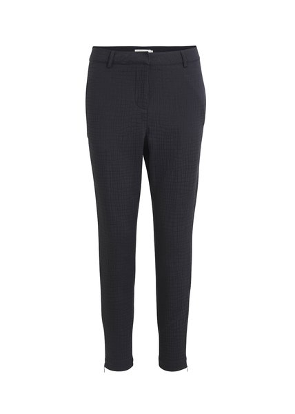 Rabens Saloner Hazel relaxed fit pant - black