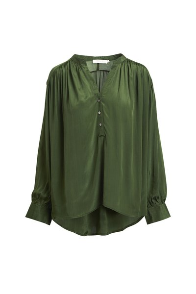 Rabens Saloner Nocturne shirt - Green